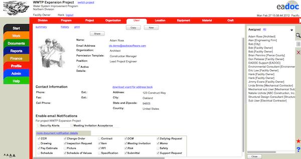 EADOC Construction Manager Software - 2019 Reviews