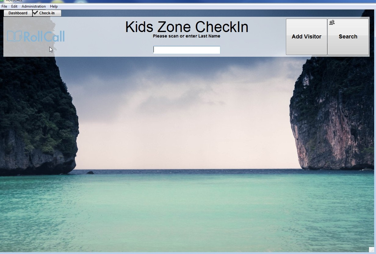 Child check-in