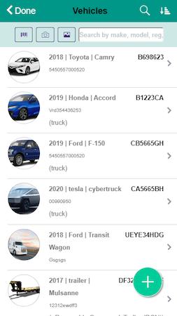 ARI vehicle database