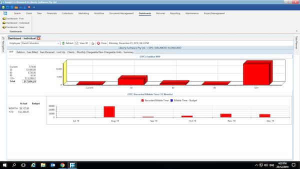 BHL Insight dashboard