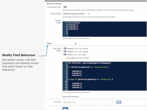 ScriptRunner for Jira modify fields