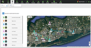 SmartServ map view