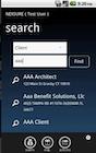 Nexsure Agency Management - Client search