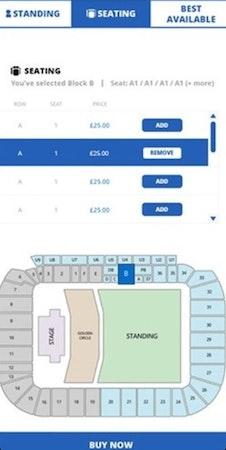 Seatedly seating map