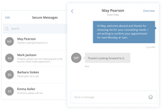 SimplePractice - Secure messaging