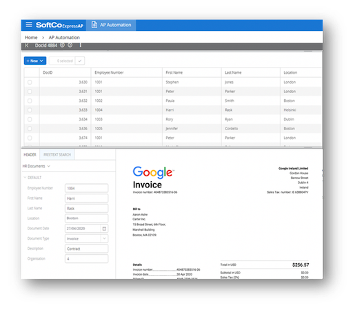 SoftCo ExpressAP security and compliant archive