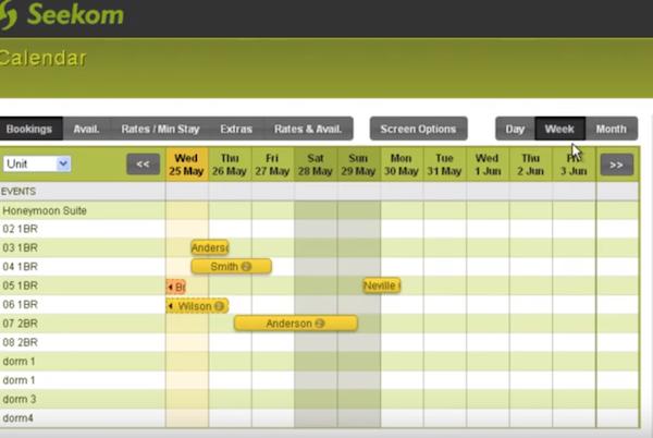 Seekom calendar