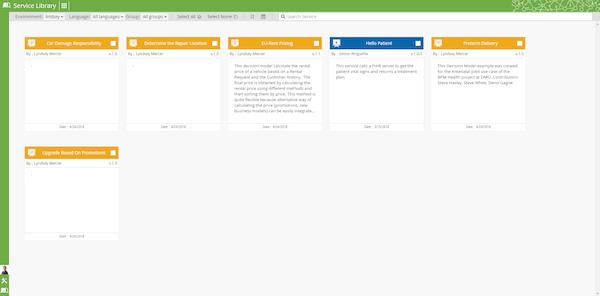 Digital Enterprise Suite service library