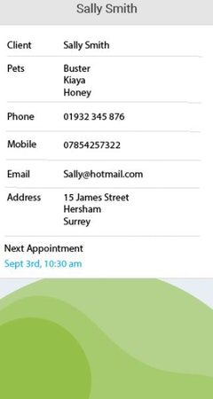 ShakeYourTail client details