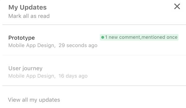 Real-time progress