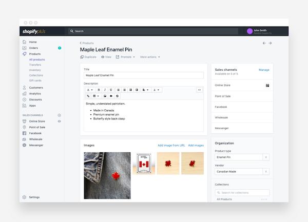 Shopify Plus product management