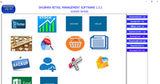 Shubhra Retail Management admin homepage