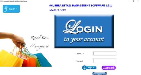 Shubhra Retail Management login