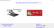 Shubhra Retail Management login page
