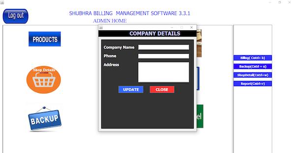 Shubhra Billing Management company details