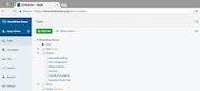 Silverstripe CMS add new page interface