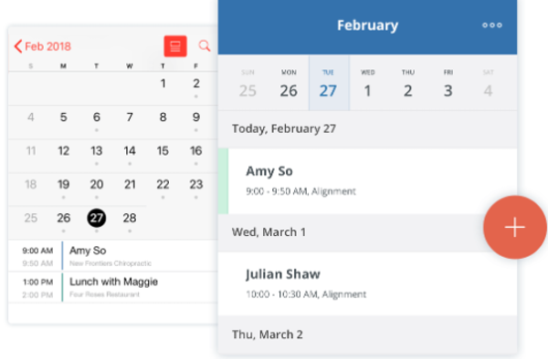SimplePractice add appointments in calendar