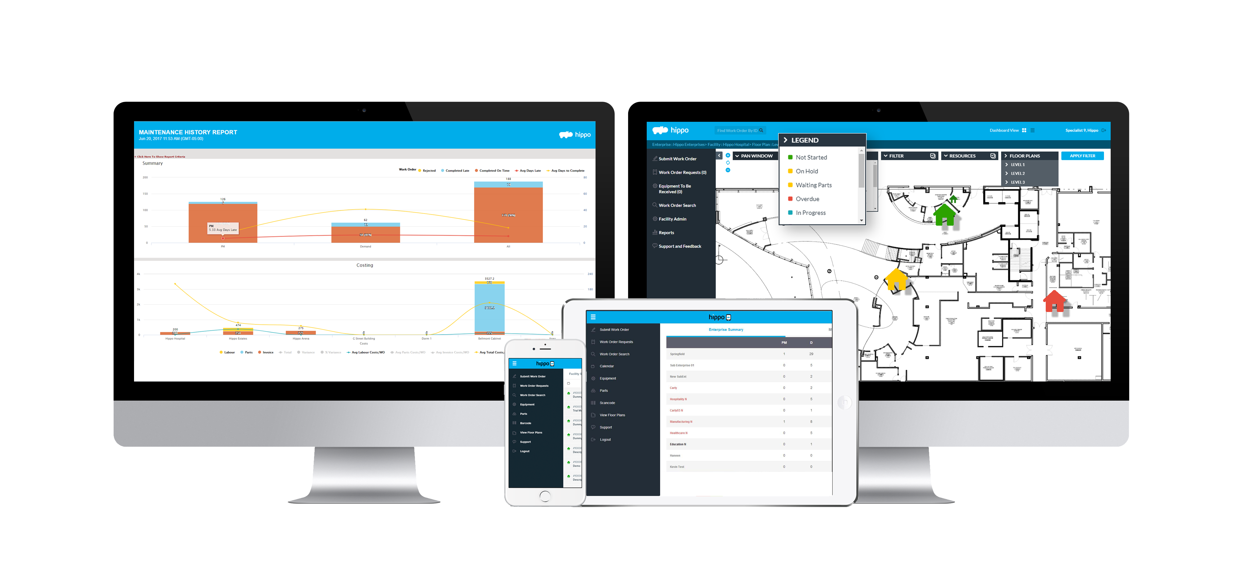 Hippo CMMS - Simple User Interface