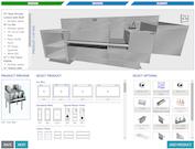 Simplio3D storage cabinet configuration