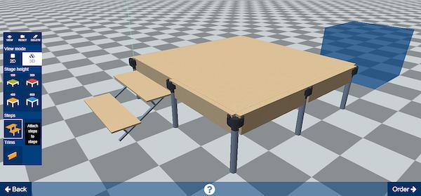 Simplio3D stage design