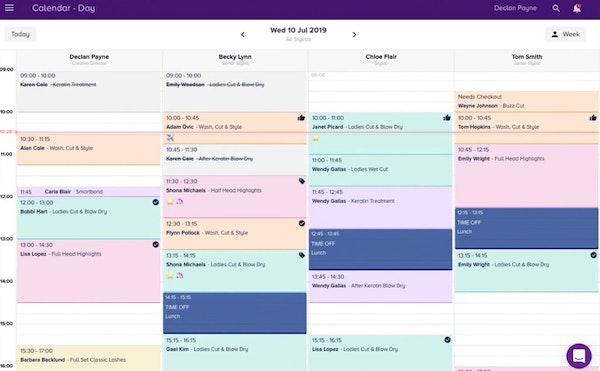 Slick calendar