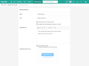 SmartCV create custom video interview questions