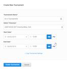 smash.gg create new tournament
