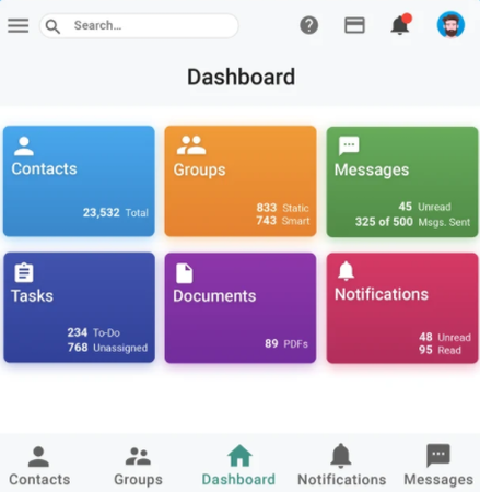 SnapDesk dashboard