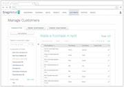 SnapRetail customer database