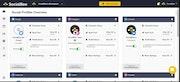 SocialBee social profiles overview