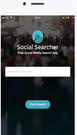 Social Searcher search tab