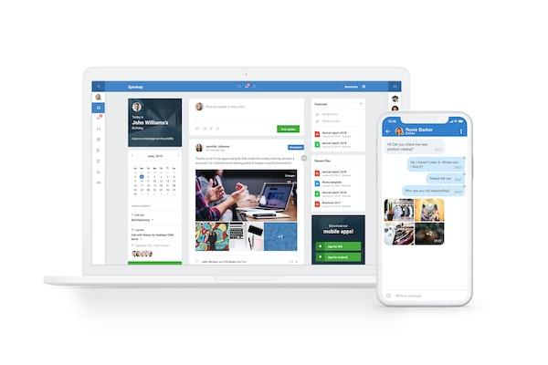 Speakap user profile screenshot