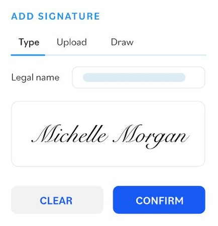 SpotDraft add signature
