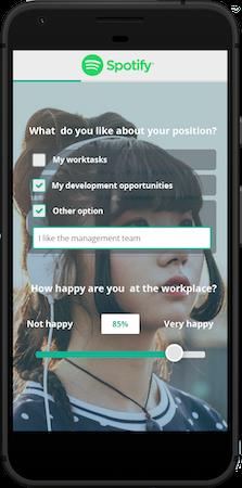 Netigate employee satisfaction survey screenshot