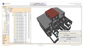 openMaint interactive viewer for 3D IFC models