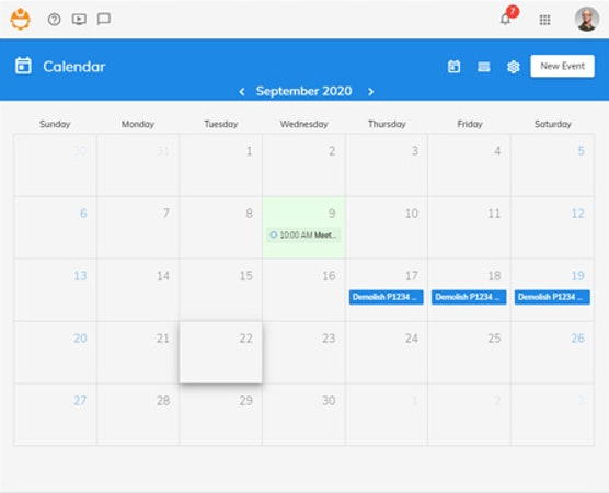 247PRO calendar