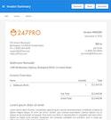 247PRO invoice summary