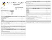 Standard report card