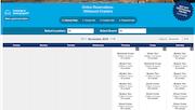 Starboard Suite reservation calendar
