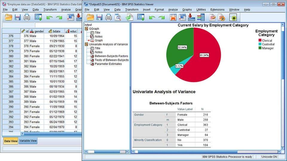 SPSS - Statistics