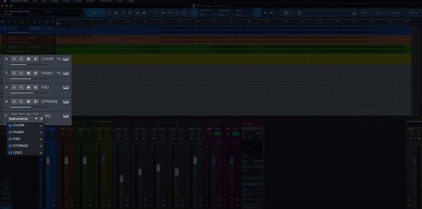 Studio One virtual instruments