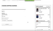 SuiteCommerce checkout process screenshot