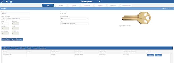 NETfacilities key management