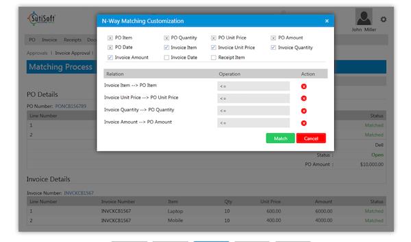 SutiAP matching customization screenshot