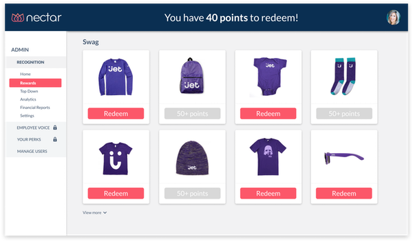 Nectar on-demand swag management