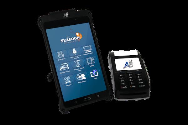 A&B POS Solutions handheld POS screenshot