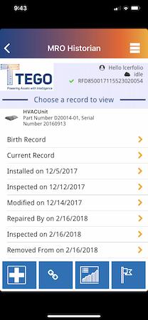 Mobile asset dashboard