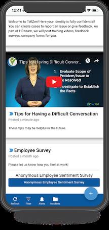 TellZen employee sentiment survey