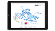 Microsoft Whiteboard pen colors and thickness