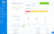 FreshBooks - Dashboard